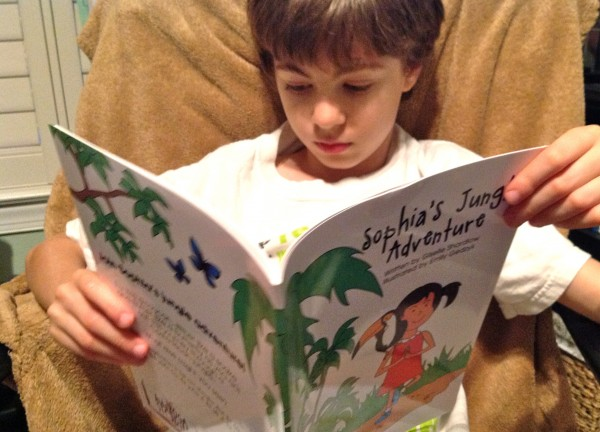 Sophia's Jungle Adventure: Book Review & Giveaway